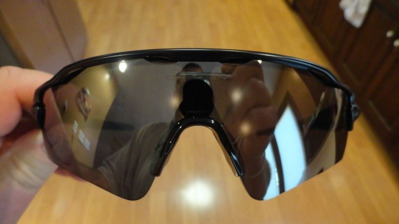 73ee1abc77 ... OAKLEY Radar EV Path- like NEW- Matte black frame- silver icon- black  ...