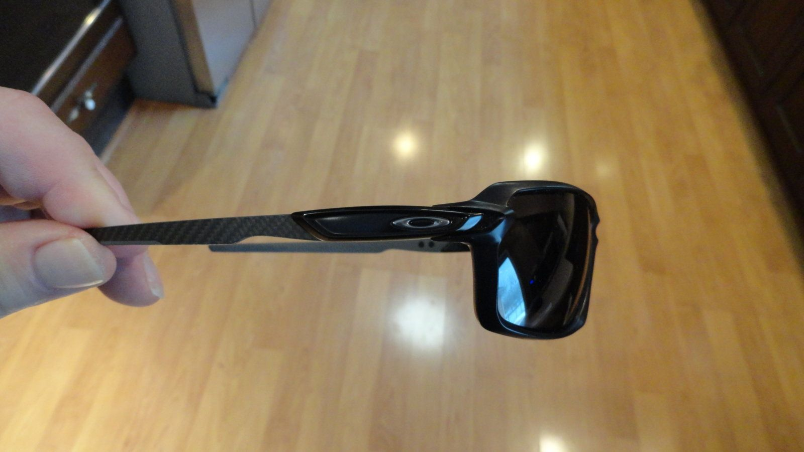 45a0cb0135 ... OAKLEY Carbon Shift- Matte black carbon frames- silver icon-   Replacement  ...