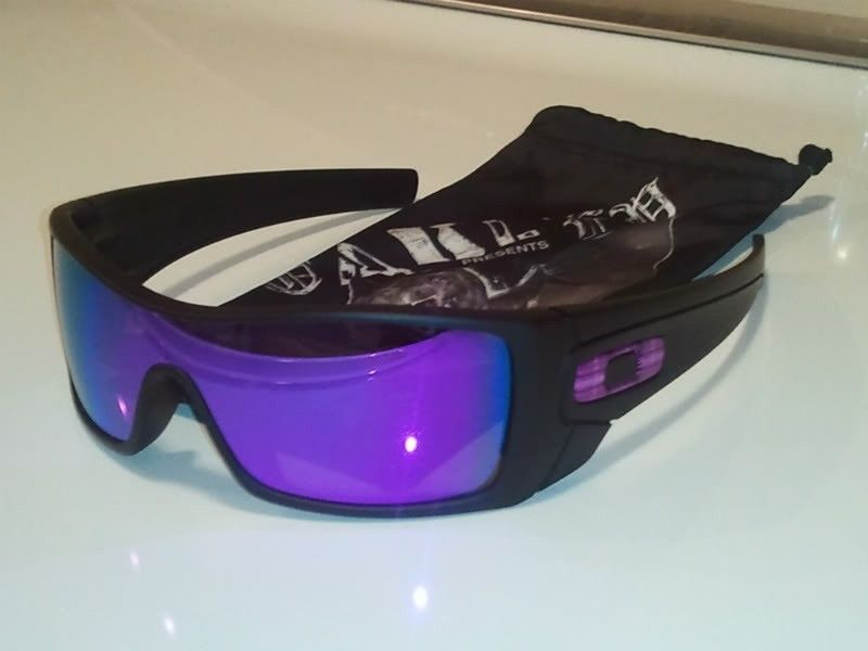 8b117347a41 Oakley Batwolf Sunglasses Matte Black Violet Iridium « Heritage Malta