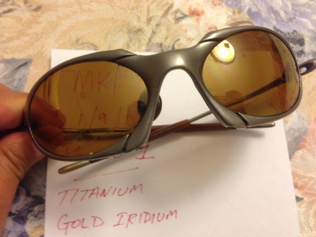 Oakley Romeo 1 - Titanium/Gold Iridium - 092D065F-82A2-4924-A29F-2D4D71B81C12.jpg