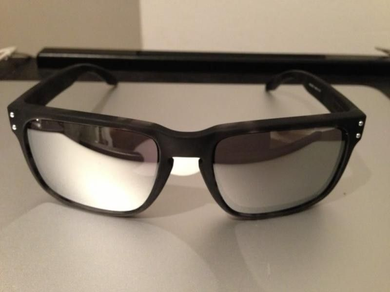 Oakley Murasaki Holbrook Matte Black Tortoise W/ Chrome Iridium - 1.jpg