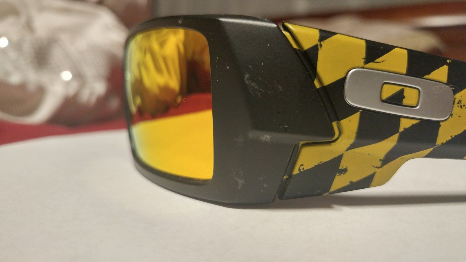Oakley Half Jacket 2 0 Xl >> Sold - Black and yellow flying tiger W/ pin . $155 ...