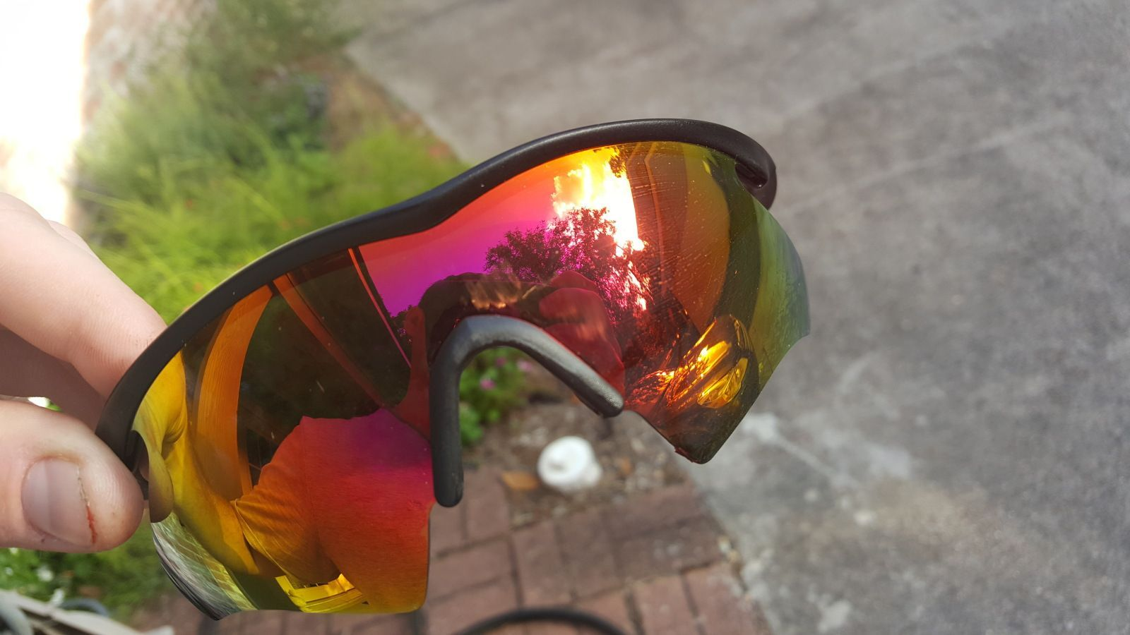 Has A Pair Of Oakley Sunglasses Ever Saved You From Possible Eye Injury? - 108a0lh.jpg