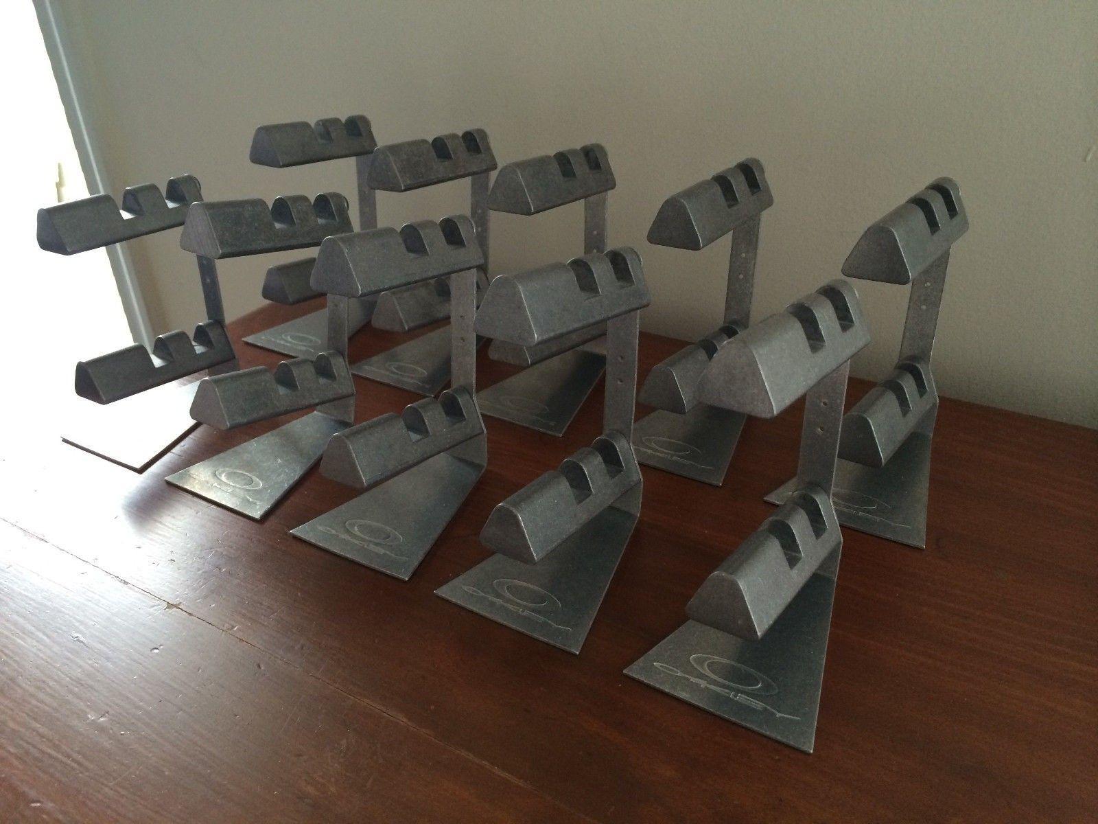 10x 2 Tier X-metal Display Stands $155 Or Trade - 12.JPG