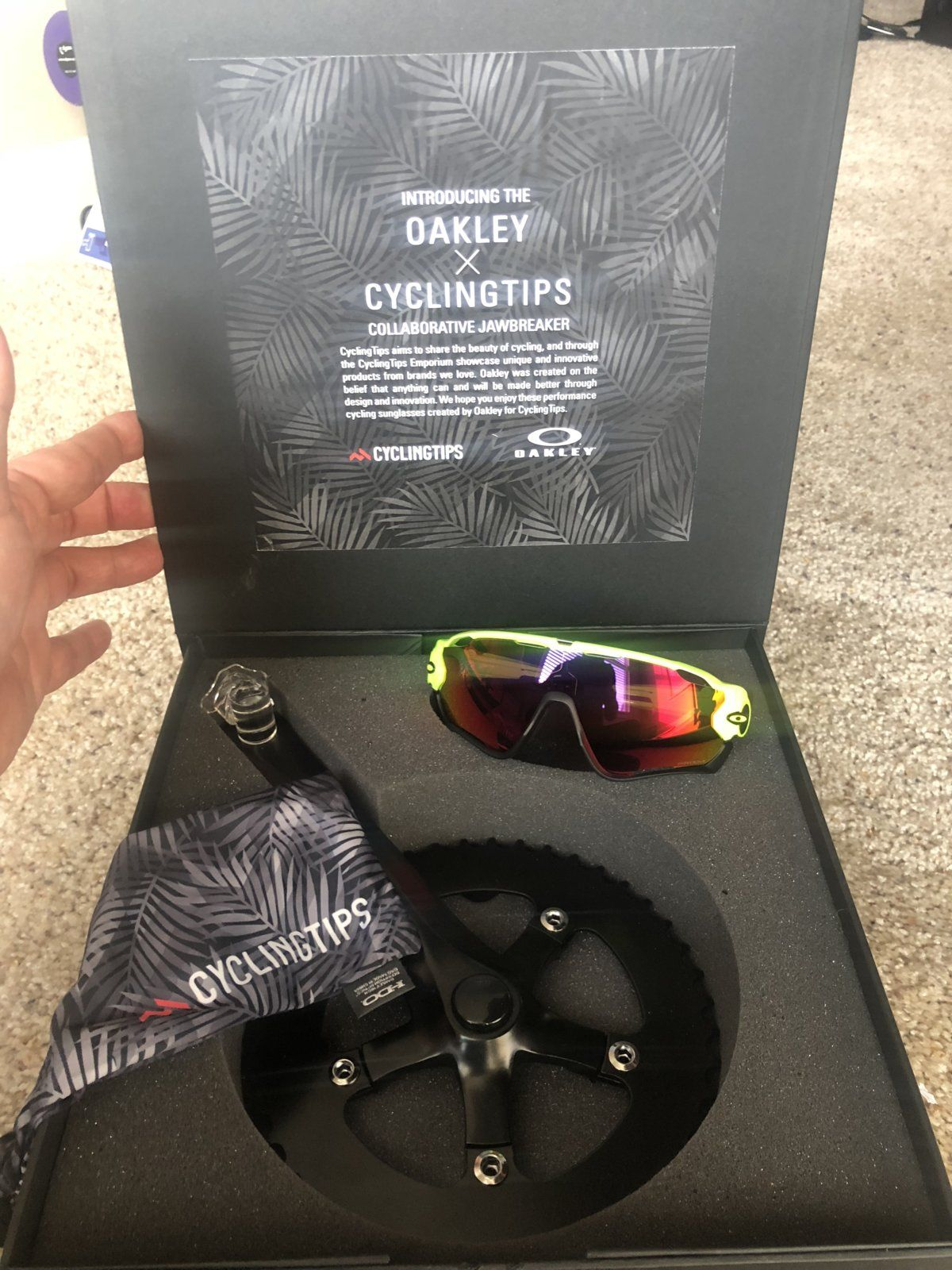 38a86c6279 Sold -    Price Adjustment   Oakley and Cycling Tips Collaboration ...