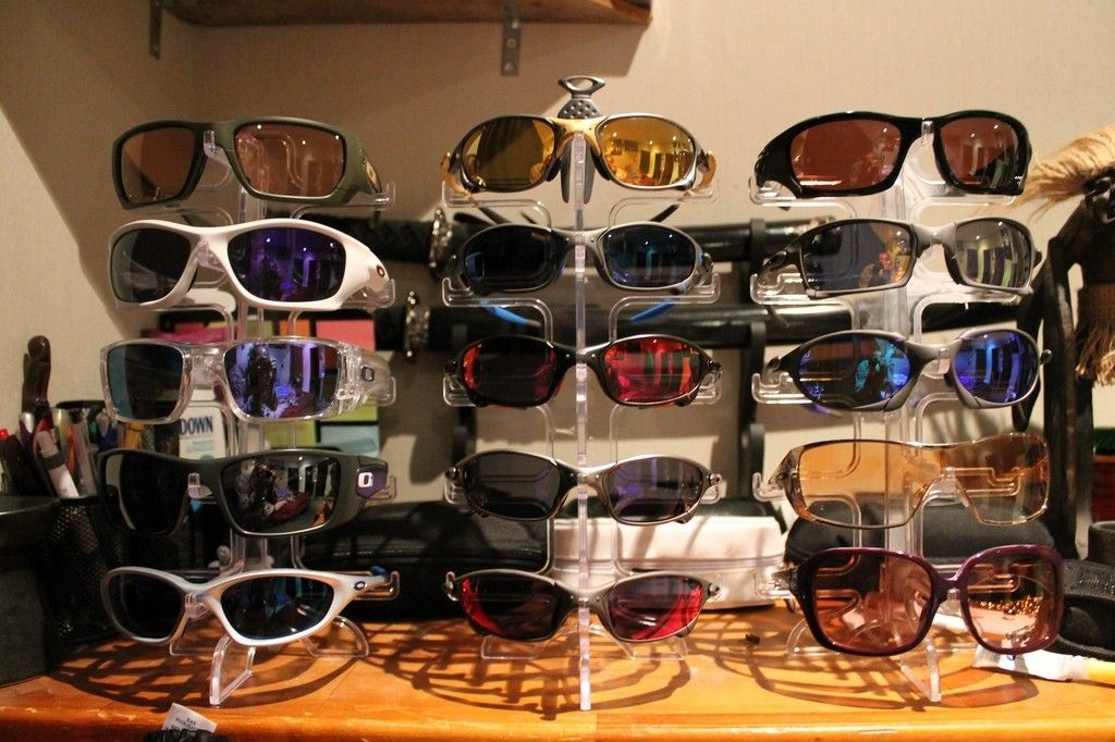 My Oakley Collection At End Of March 2014 - 13442467173_8d4cce9eb4_b.jpg