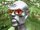 NEW! OAKLEY BADMAN Sunglasses Dark Carbon / Ruby Iridium Polarized OO6020-03 - 140.jpg