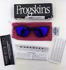 Oakley Frogskins Matte Black Purple Violet Lens - 140.jpg
