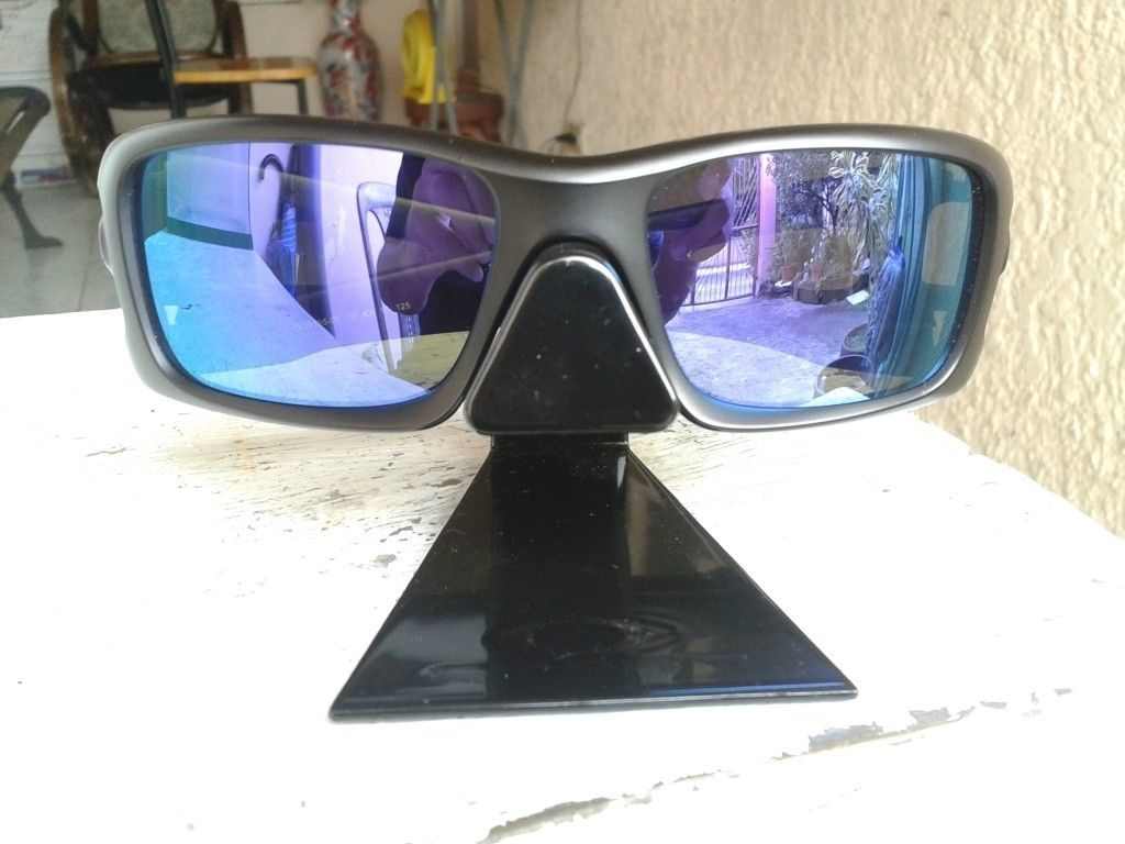 d98b75195f Oakley Crankshaft Matte Clear W Violet Iridium Polar Lens « One More ...