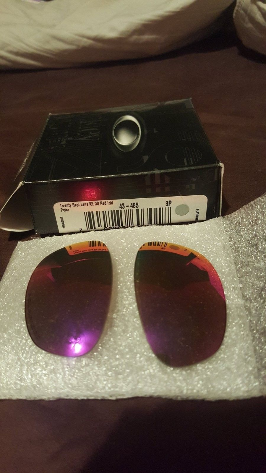 Twenty 00 red iridium polarized. OEM BNIB never mounted 43-485 - 14522367288661604375381.jpg