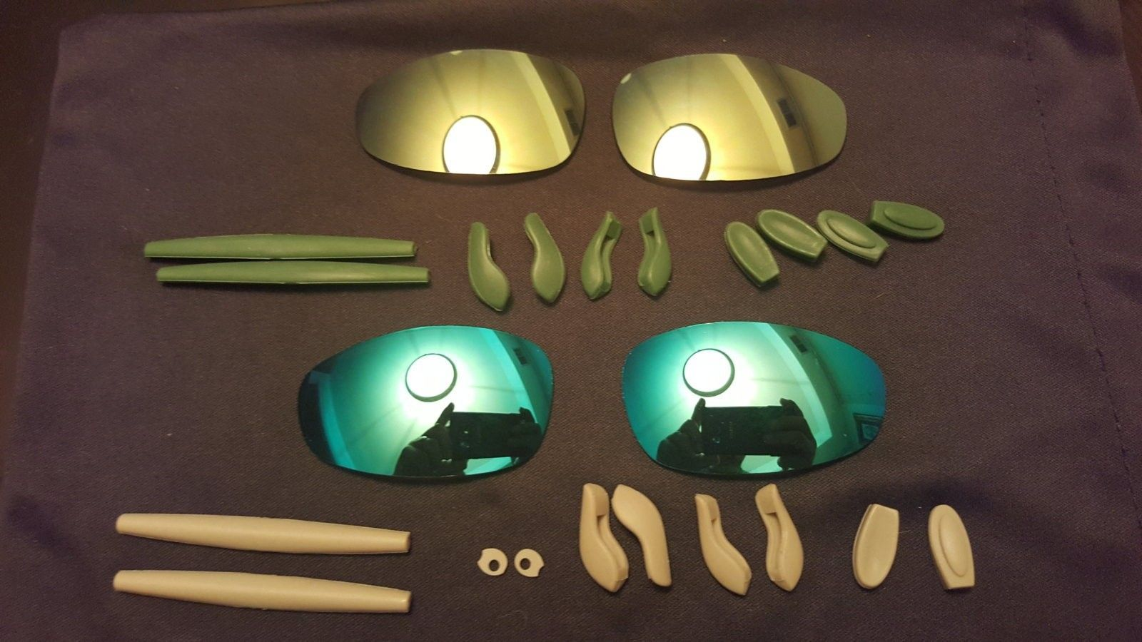Juliet Hammer Stem Plasma/ g30, emerald, blue lenses and 2 extra rubber kits - 1455625066326-589226252.jpg