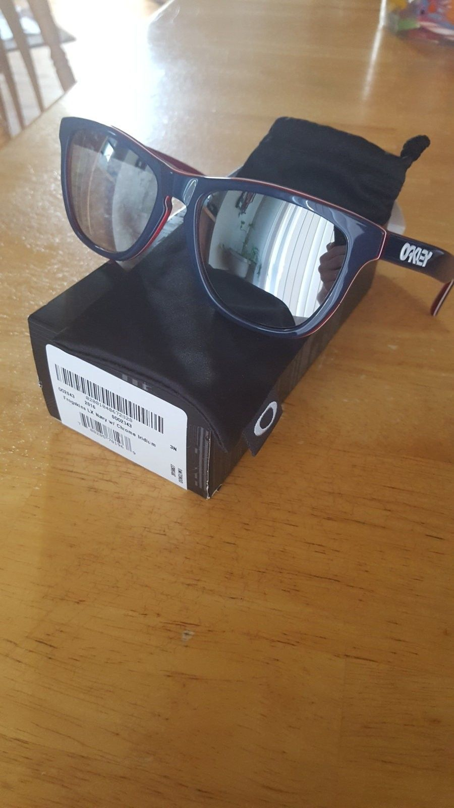 Frogskins LX navy with Chrome (PRICE DROP) - 1460938828513972852735.jpg