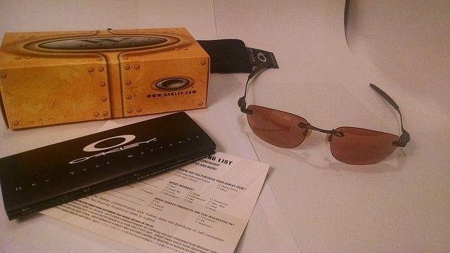 Oakley Why 8.1 Brown Sunglasses VR28 Black Iridium Lenses Original Pkg - 17128491818_90841a0861_z.jpg