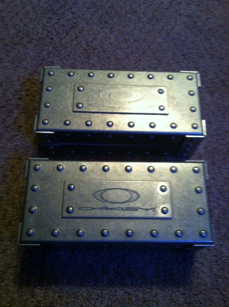 For Sale: Two Oakley Original Aluminum Vaults - 1c47785a.jpg