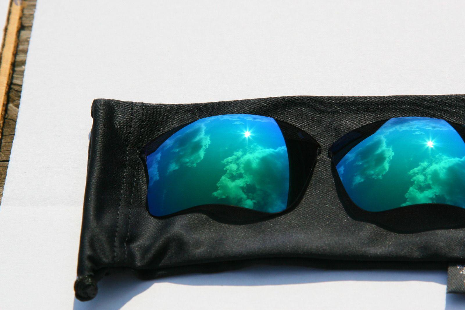 Oakley Flak Jacket Infrared Frame 03-896 And Jade Iridium XLJ Lenses - 1lo6.jpg