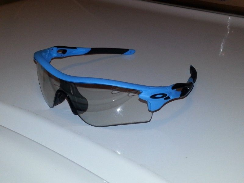 Oakley Radarlock Clear Lenses