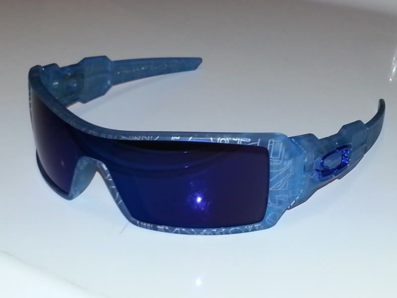 Oakley Oil Rig Custom