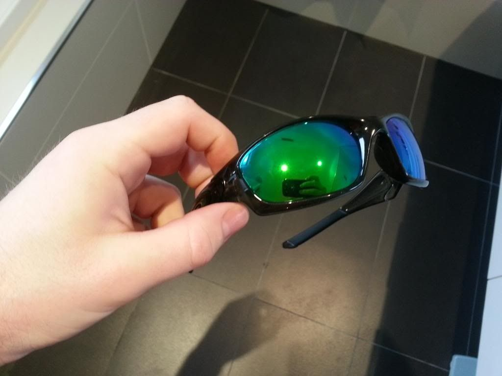oakley straight jacket sunglasses iiqd  Straight Jacket Grey Smoke/VL Emerald Review- Good First Impressions!