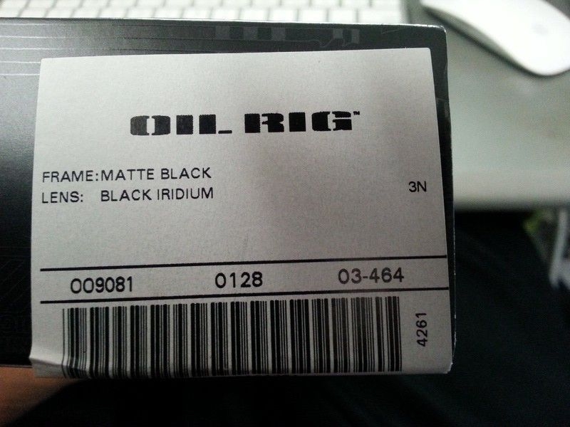 Picked Up New Oil Rig At O Store. Concern About Authenticity - 20130818_122419.jpg