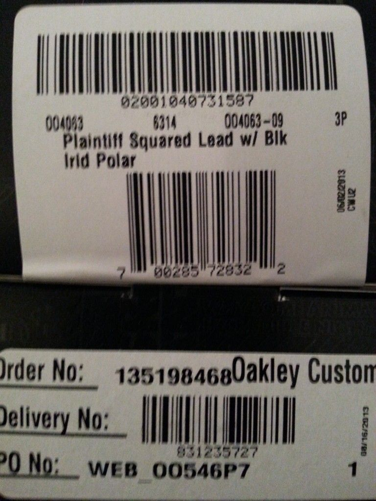 My Latest Pickups; OCP & Plaintiff Squared - 20130821_174632.jpg