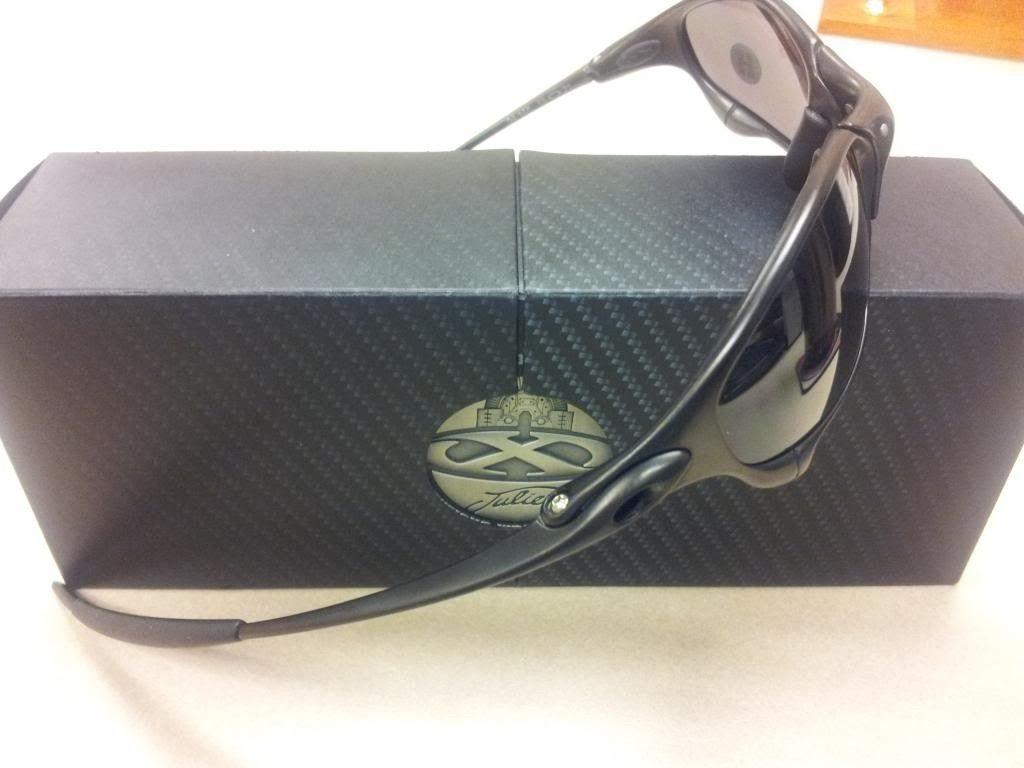 BNIB Oakley Juliet Carbon/Black Iridium - 20131031_101718_zps9d2f8c5a.jpg