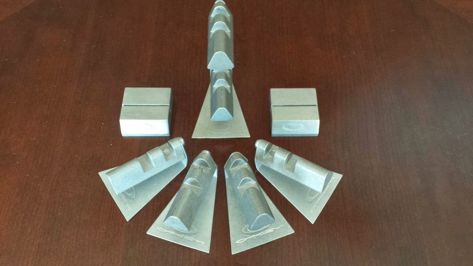 5 Display Stands With 2 Card Holders $55 Shipped - 20140322_135603.jpg