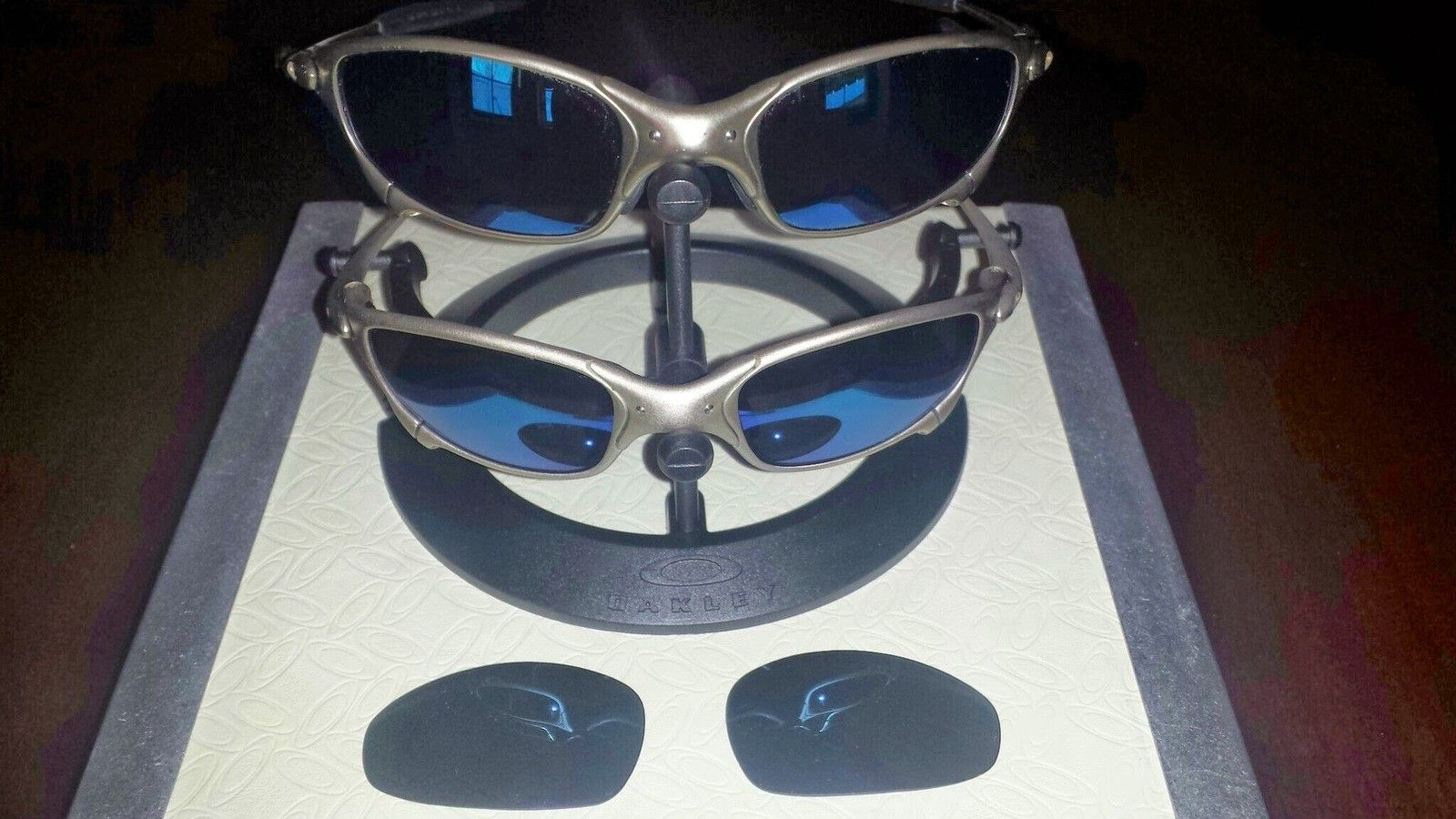 Two Pairs Of Plasma Ice Juliets + A Spare Pair Of Lenses - 20140402_184458.jpg