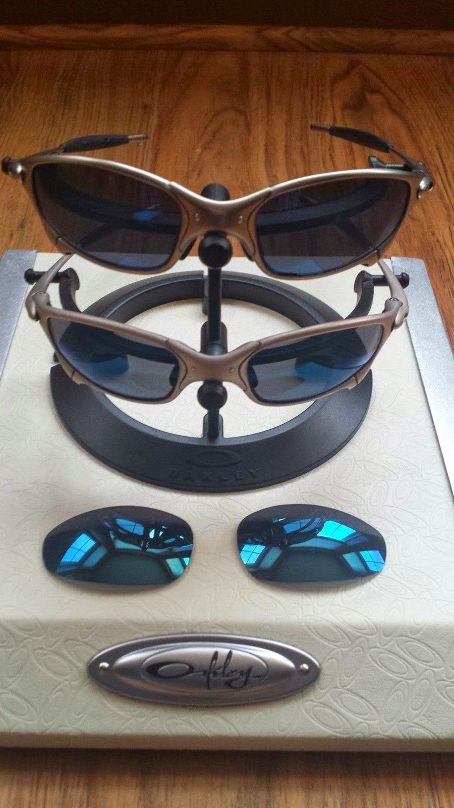 Two Pairs Of Plasma Ice Juliets + A Spare Pair Of Lenses - 20140402_184551.jpg