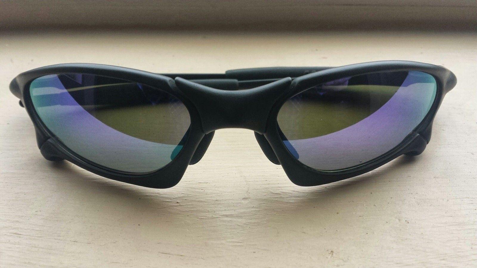 X-Man Custom Penny Sunglasses Matte Black Frame Violet Lenses - 20140407_114924.jpg