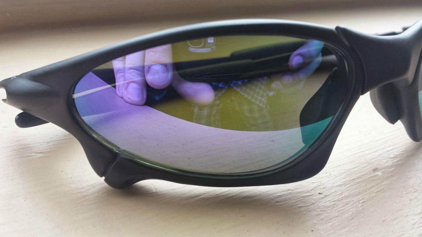 X-Man Custom Penny Sunglasses Matte Black Frame Violet Lenses - 20140407_114939.jpg