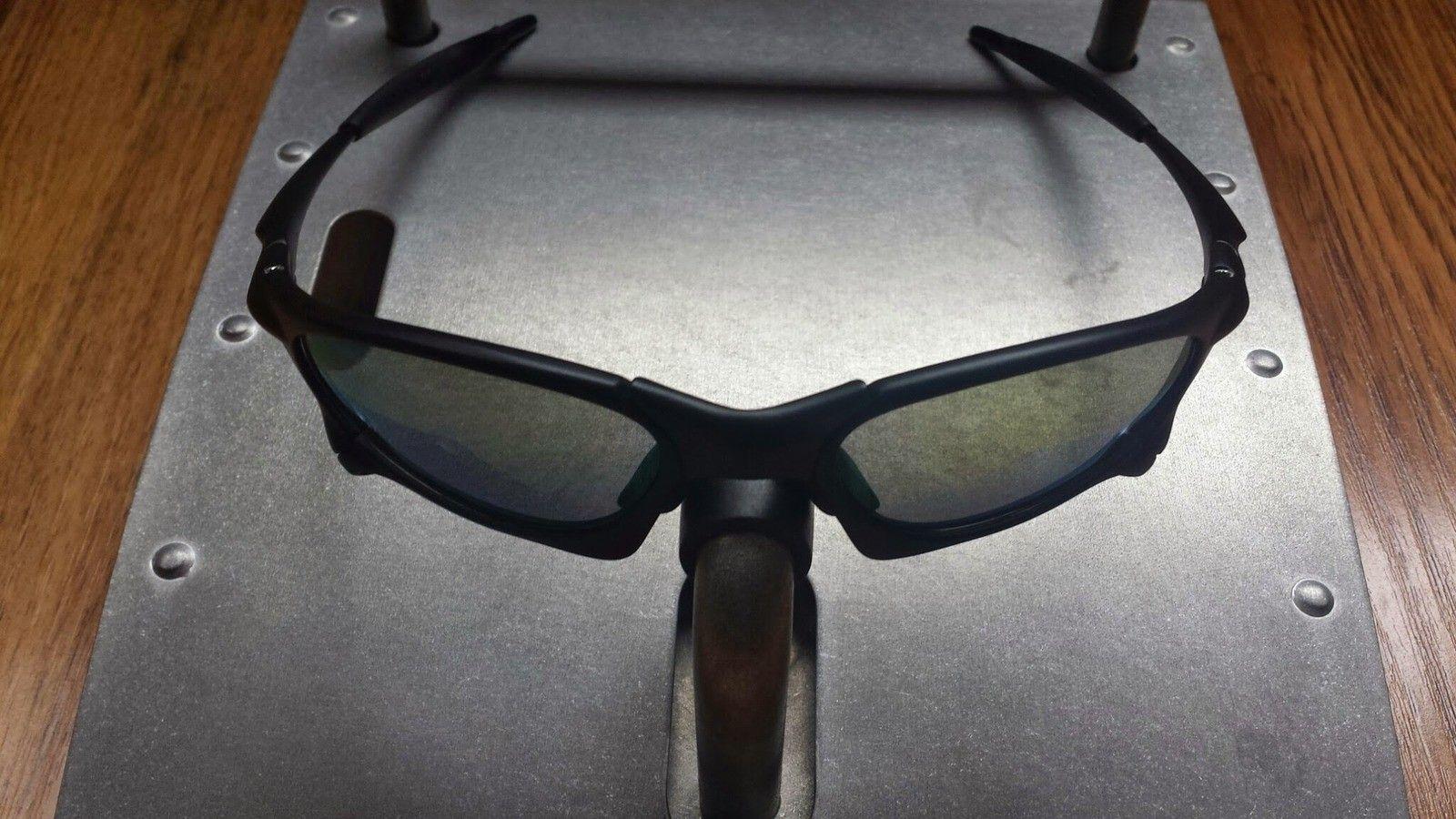 X-Man Custom Penny Sunglasses Matte Black Frame Violet Lenses - 20140407_115001.jpg
