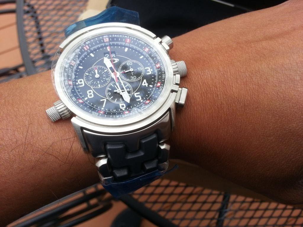 12 Gauge Stainless Carbon Bracelet Black - 20140502_152847.jpg