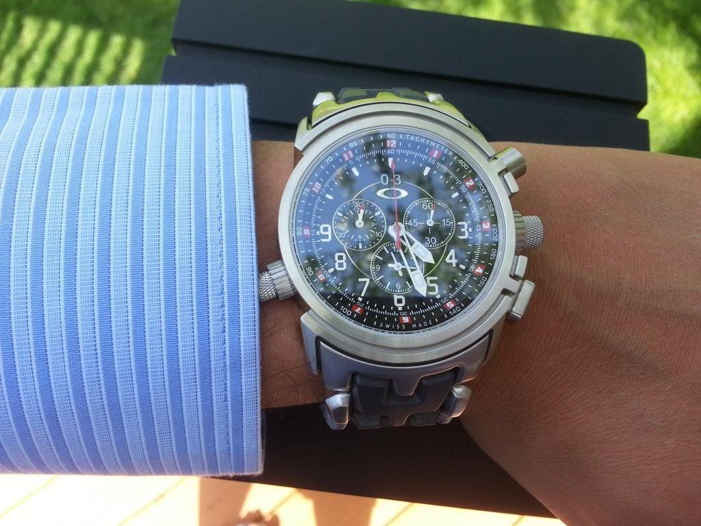 12 Gauge Watch Bracelet Edition Black SOLD - 20140503_162340.jpg