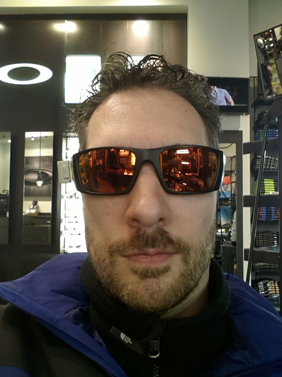 Oakley Fuel Cell On Face