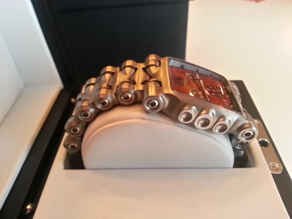 Minute Machine Red Dial Titanium Bracelet - 20140610_201758_LLS.jpg