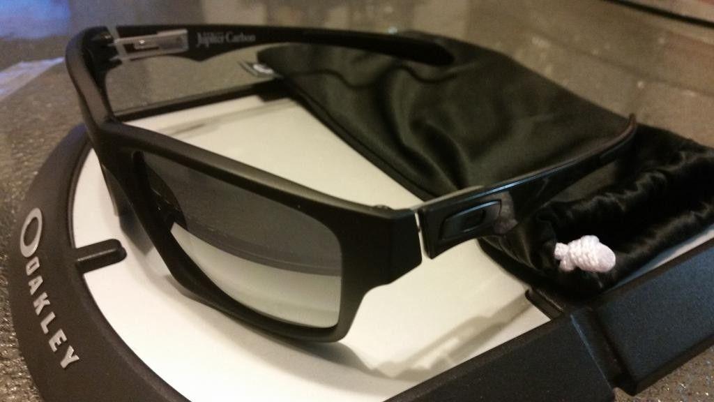 Jupiter Carbons Brand New . Matte Black With Black Iridium Lens. - 20140728_200637_zpswuvgropa.jpg