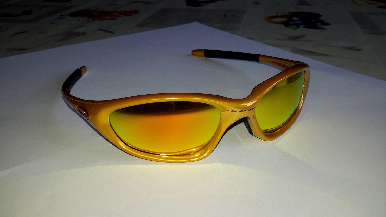 Oakley XX Eletric Mustard W/fire Iridium Lens - 20140908_162713.jpg