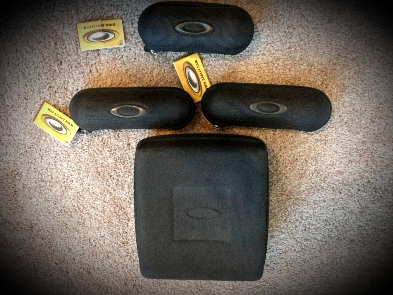 Some Of My Oakley Collection Accessories - 20141020_171244.jpg