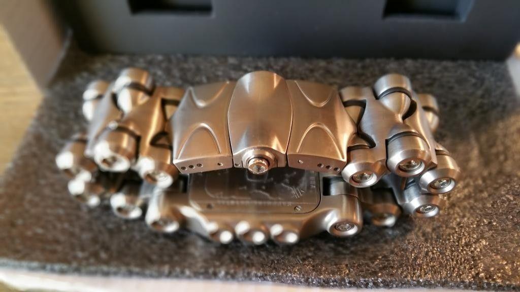 Minute Machine Black Dial Titanium Bracelet SOLD - 20141125_153259.jpg