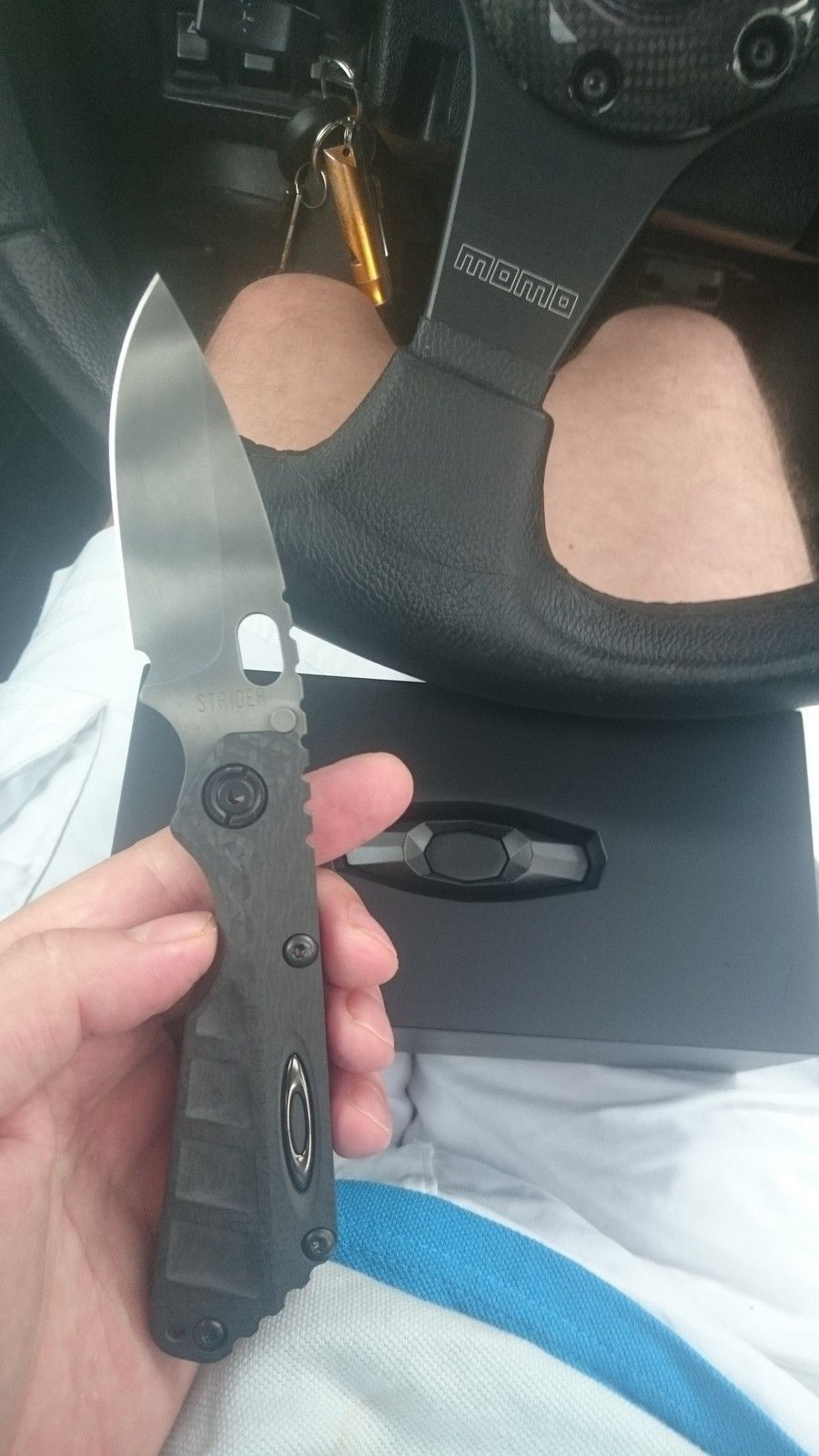 Oakley Knife Elite Strider Machined Carbon Fiber SNG with camo blade - 2015-07-15 15.59.36.jpg