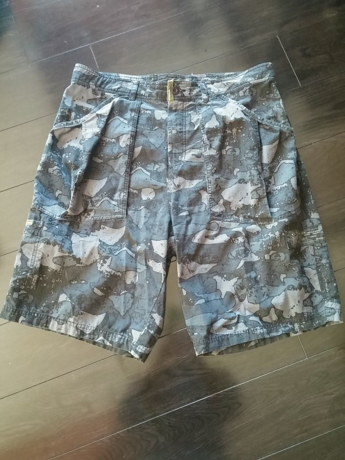 Oakley Tactical Field Gear Night Camo Shorts Size 38 - 20150126_134530.jpg