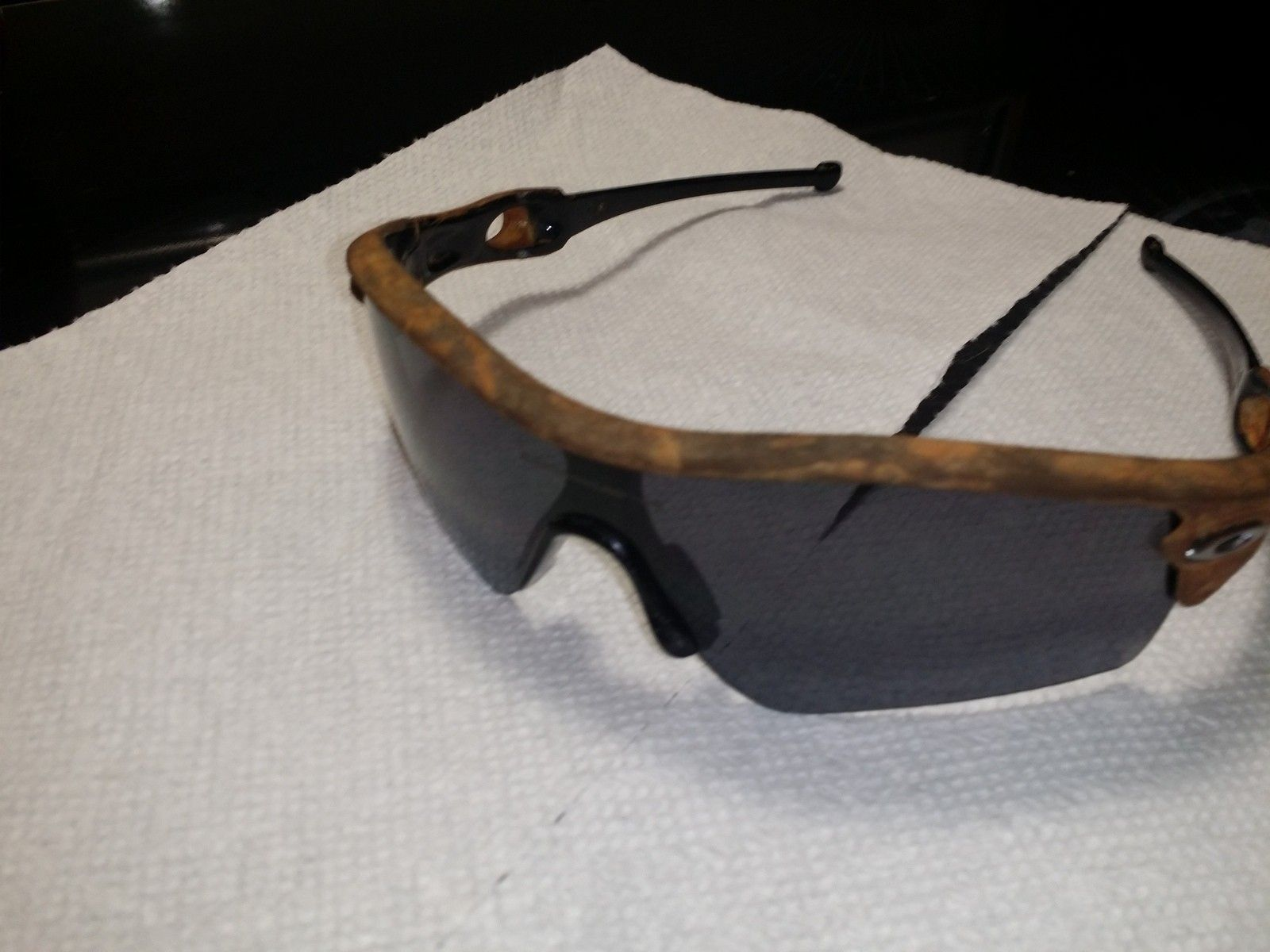 Paint Plastic Glasses Frame : Stripped paint on plastic frames! Super easy! Oakley Forum