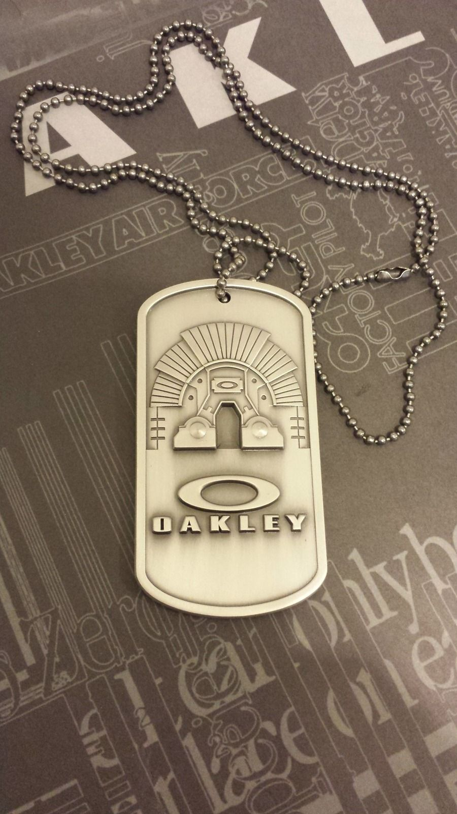 How rare are the Oakley dog tags - 20150519_192539_zps7flinwar.jpg