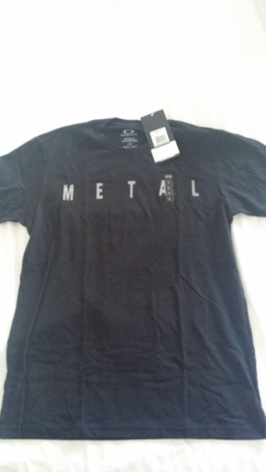 Black Metal Tee AND Dk Hthr Gry Orbital Tee (Size Large) - 20150829_113325.jpg