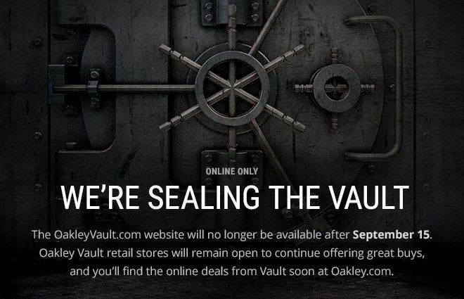 Oakley Vault online to close.... - 20150908_Vault_D2_01.jpg