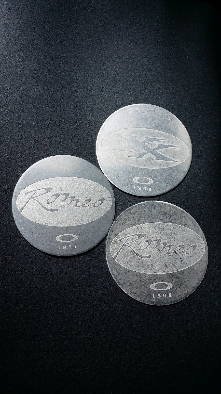 3 X Metal Coins - 20150910_121136.jpg
