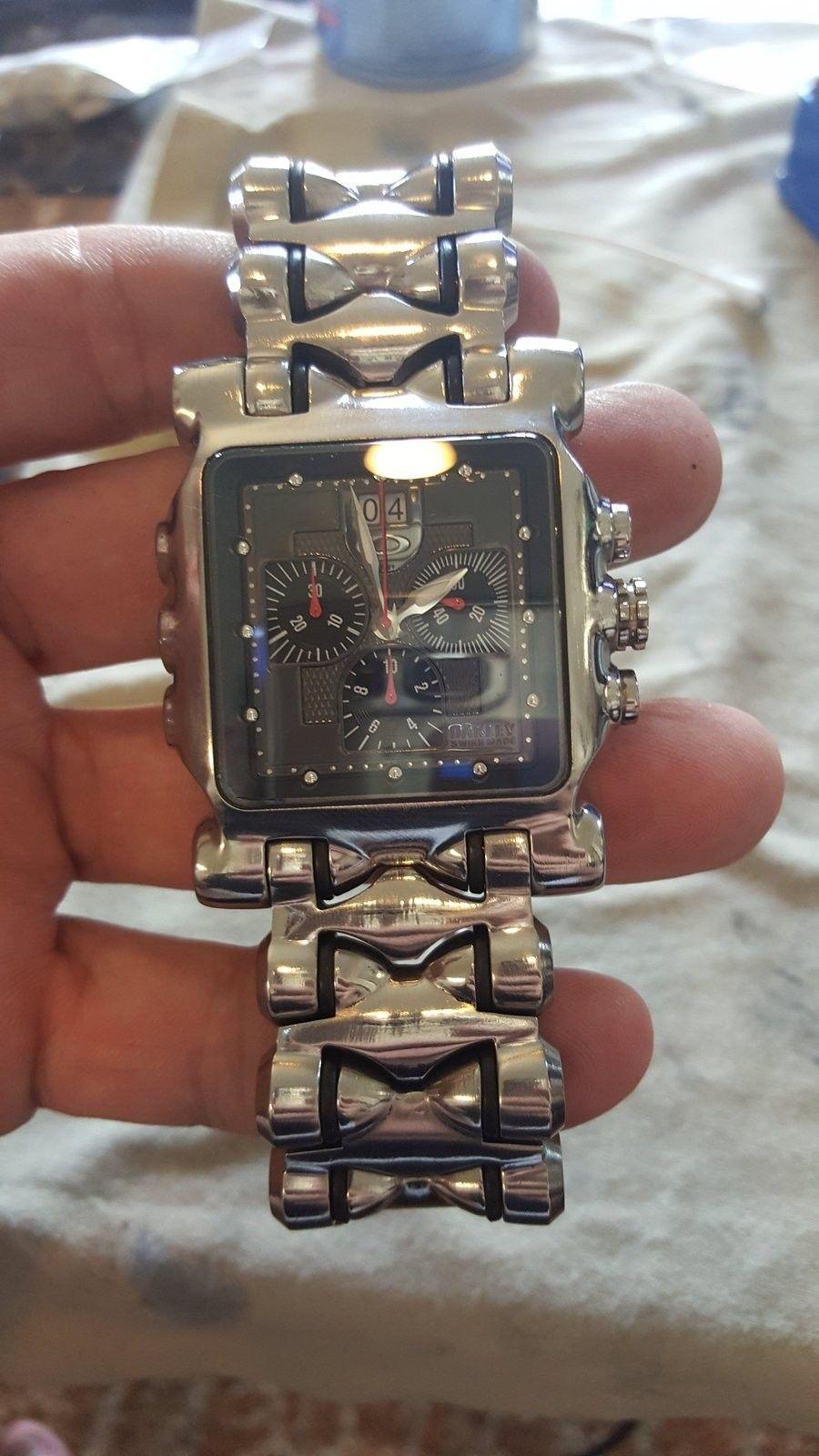 My first oakley watch - 20151104_135649.jpg