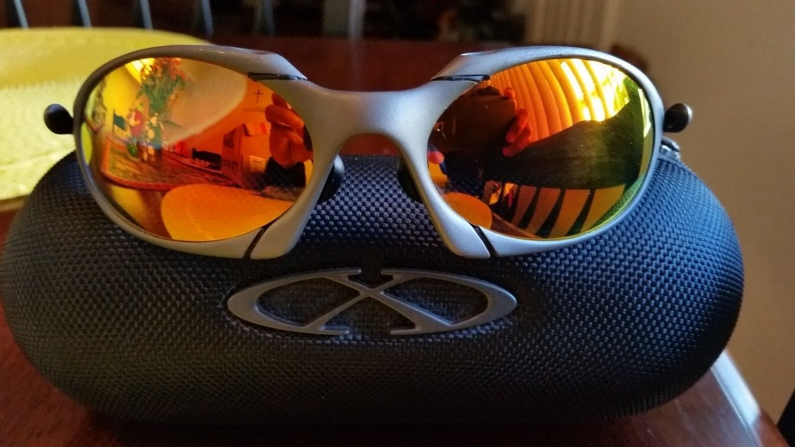 for sale Oakley Romeo 1 x metal Excellent condition - 20151125_093313.jpg