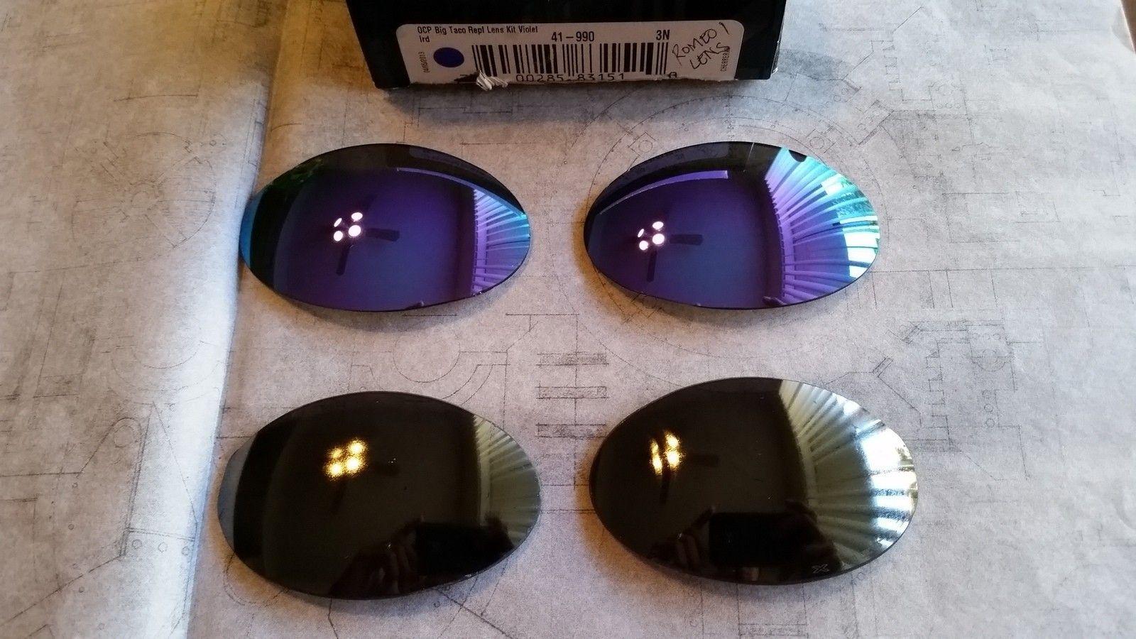 Oakley Romeo 1 lens black irid and violet - 20151130_085354.jpg