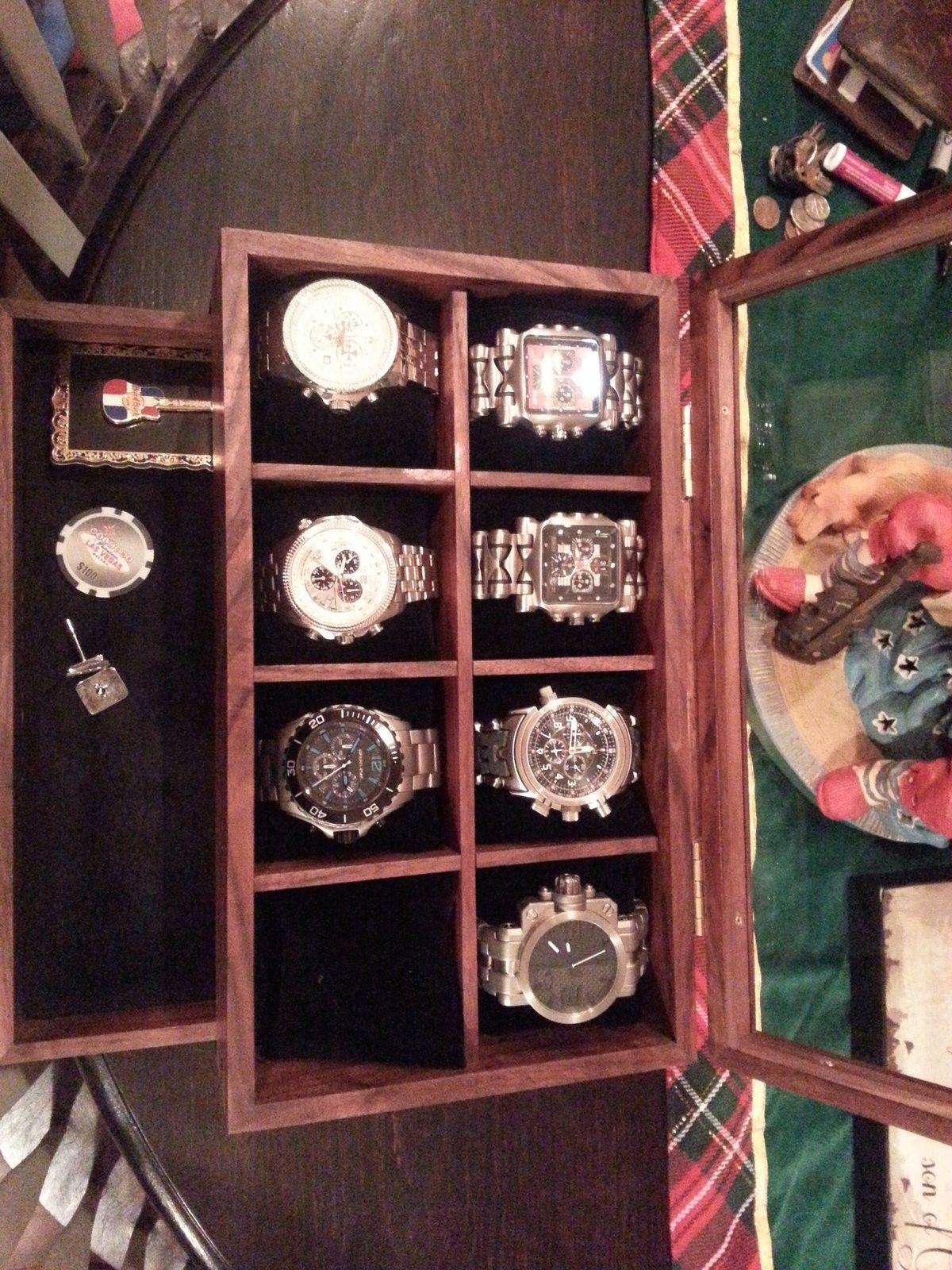 Got a new watch box.....collection growing - 20151201_203909.jpg